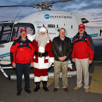 Heliops, Santa and crew