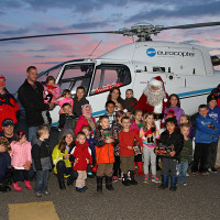 Helios and Friends of Flying Santa 2014