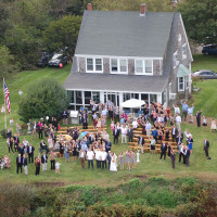 Aerial view of Wedding - Heliops